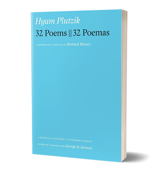32 Poems || 32 Poemas Hyam Plutzik